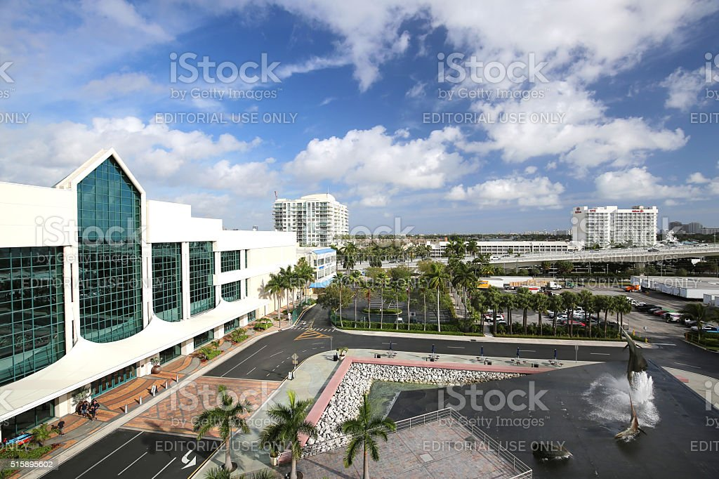 Fort Lauderdale Convention Center stock photo