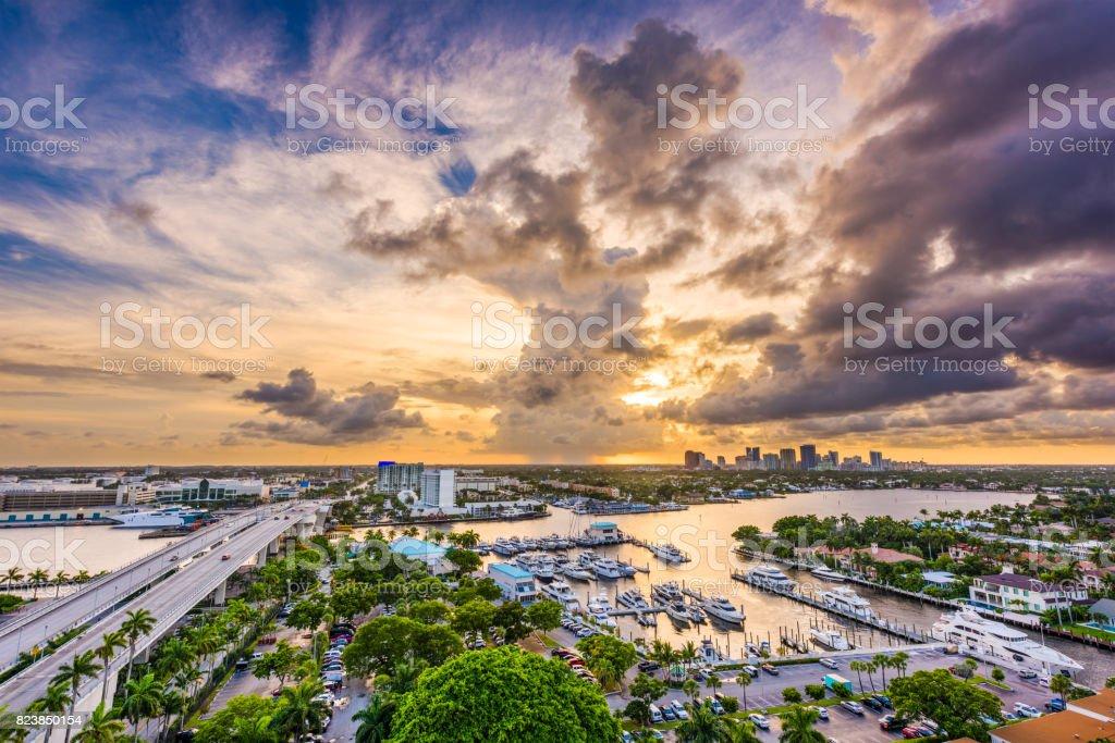 Fort Lauderdale, Florida stock photo