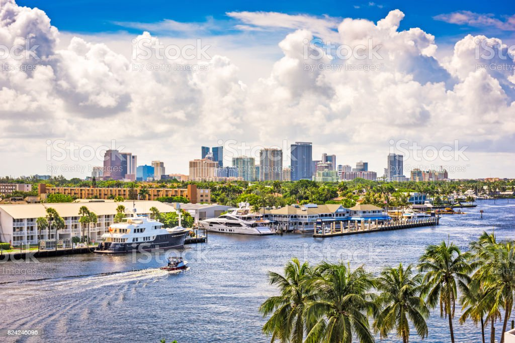 Fort Lauderdale Florida stock photo