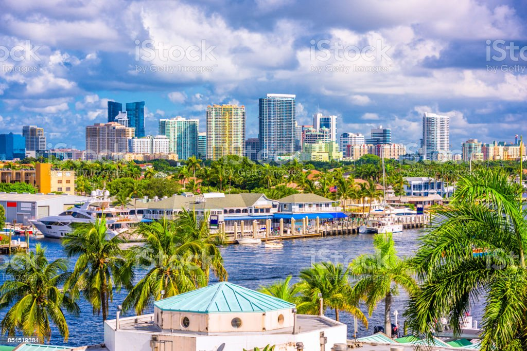 Fort Lauderdale Florida ZSkyline stock photo