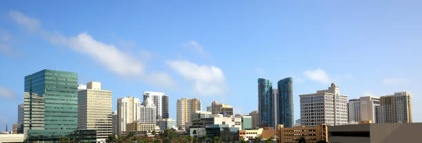Fort Lauderdale Skyline stock photo