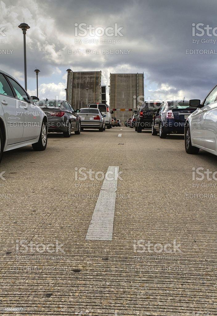 Fort Lauderdale - The drawbridge royalty-free stock photo