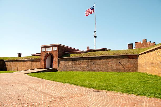 fort mchenry national monument and historic shrine - fort bildbanksfoton och bilder