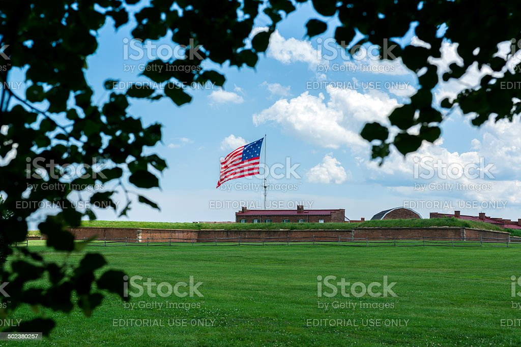 Fort McHenry stock photo