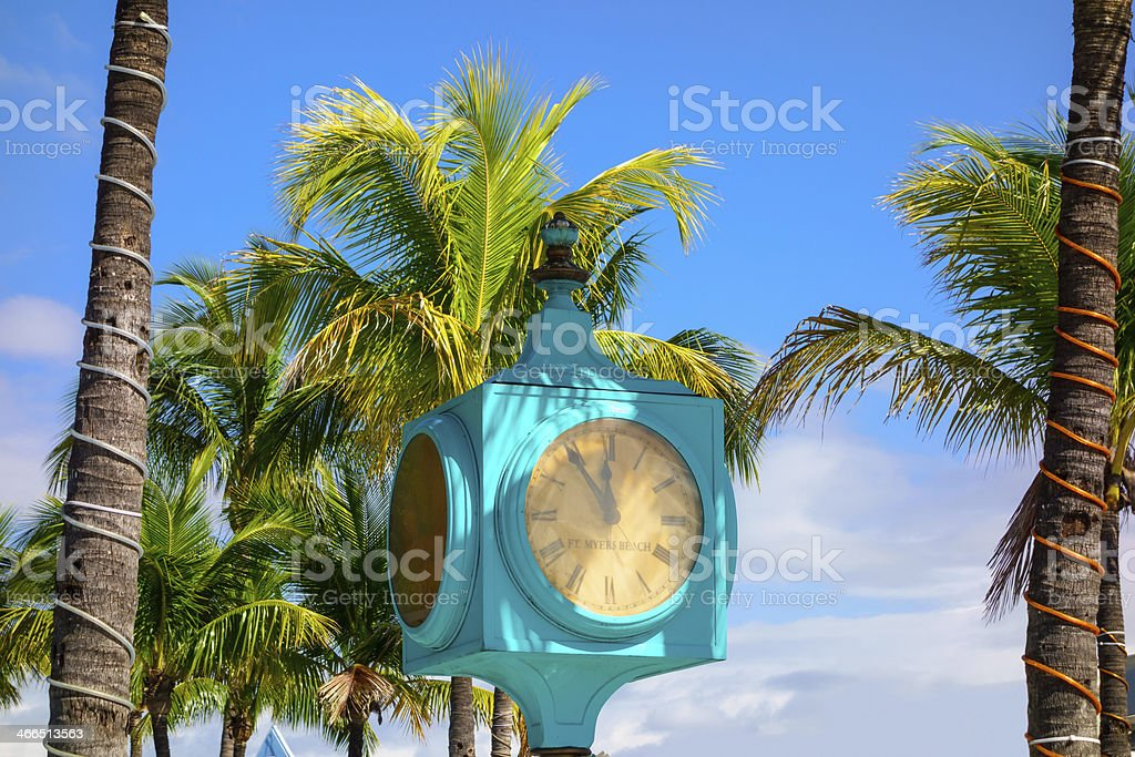 Fort Myers Beach, Florida stock photo
