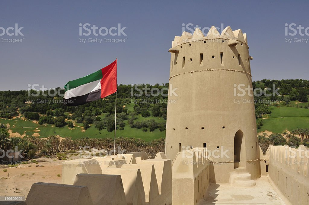 Fort near Liwa royalty-free stock photo