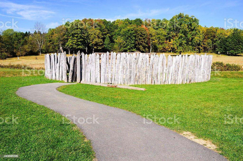 Fort Necessity National Battlefield stock photo