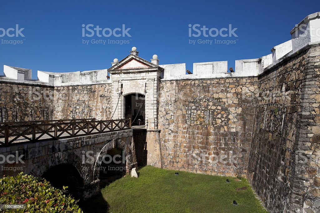 Fort of San Diego - Acapulco, Mexico stock photo