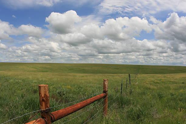 Fort Pierre National Grassland stock photo