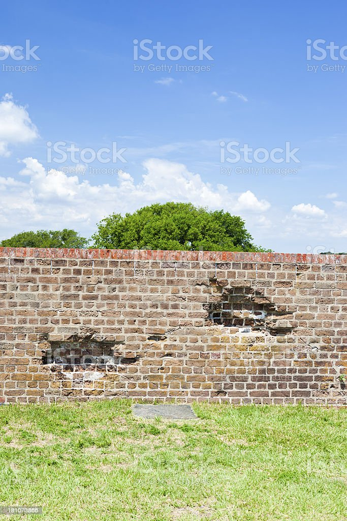 Fort Pulaski, Georgia stock photo