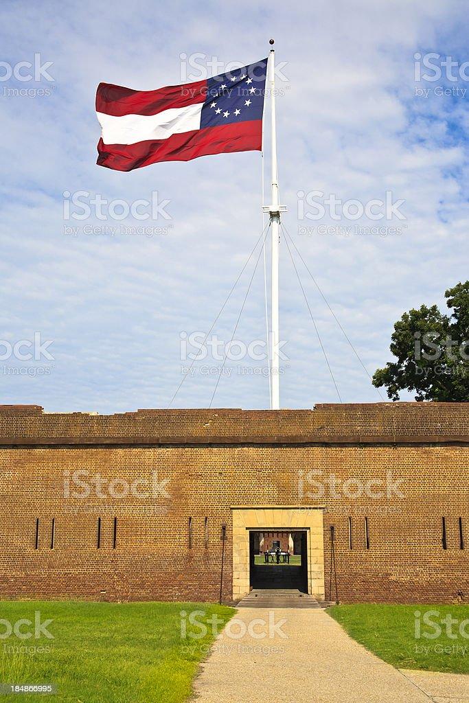 Fort Pulaski stock photo