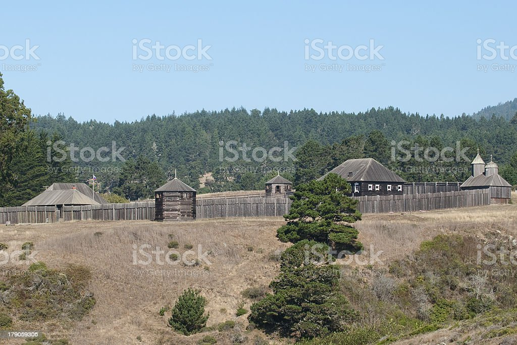 Fort Ross (Sonoma County, Calif.) royalty-free stock photo
