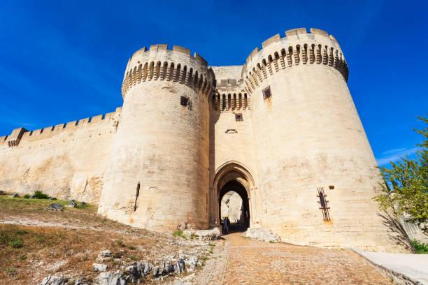 Fort Saint Andre in Avignon stock photo