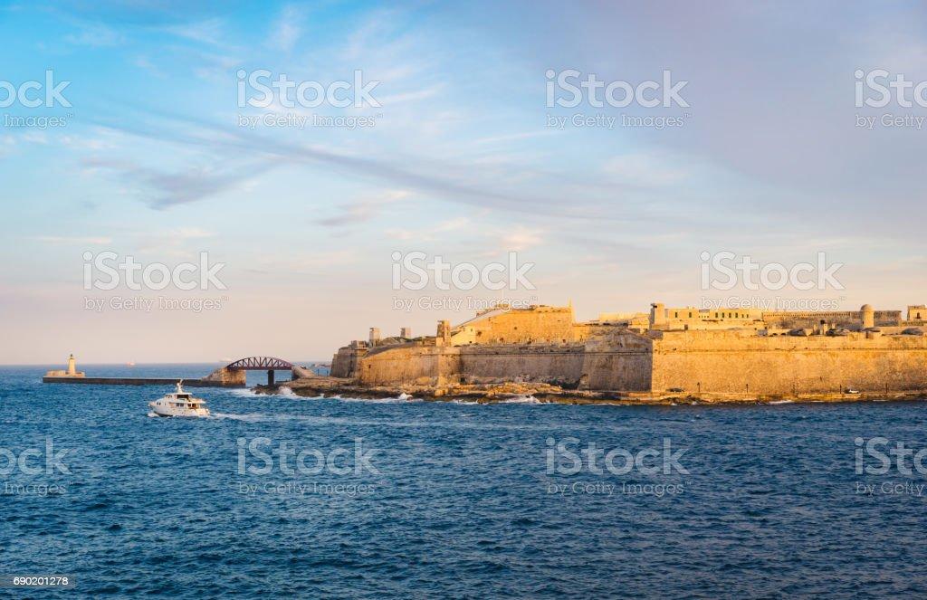 Fort Saint Elmo, Valletta, Malta stock photo