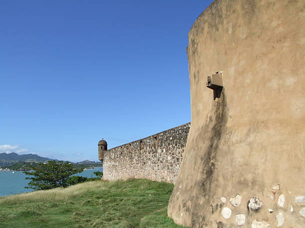 fort san felipe - belkindesign stock pictures, royalty-free photos & images