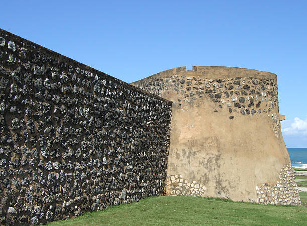 fort san felipe turret - belkindesign stock pictures, royalty-free photos & images