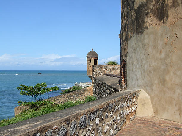 fort san felipe watchtower - belkindesign stock pictures, royalty-free photos & images