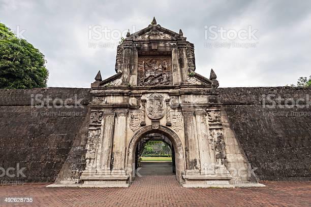 Fort Santiago Stockfoto en meer beelden van Architectuur