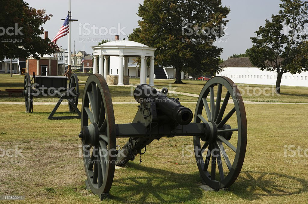 Fort Scott royalty-free stock photo