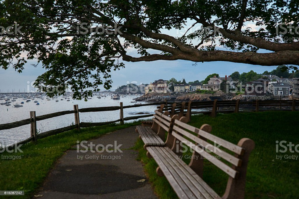 Fort Sewall, Marblehead, MA stock photo