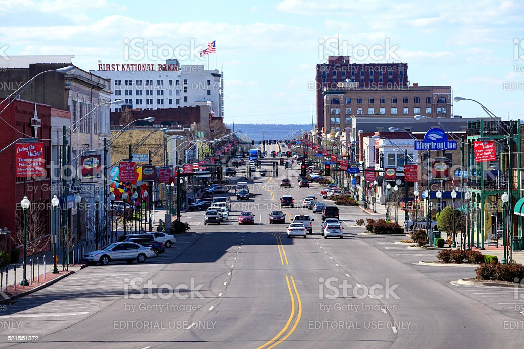 Fort Smith, Arkansas stock photo
