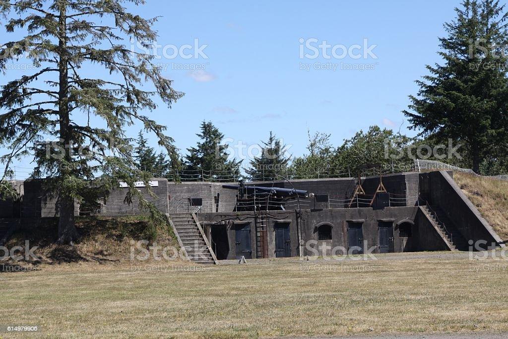 Fort Stevens Near Astoria Oregon stock photo
