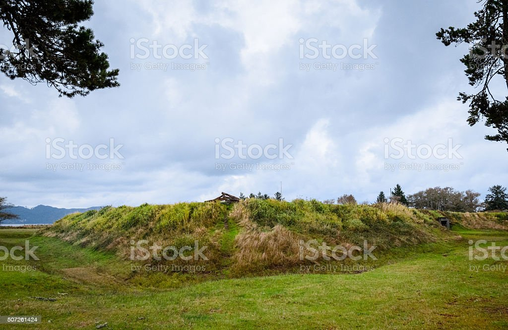 Fort Stevens State Park stock photo