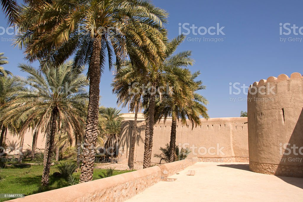 Fort Sultan Bin Saif stock photo