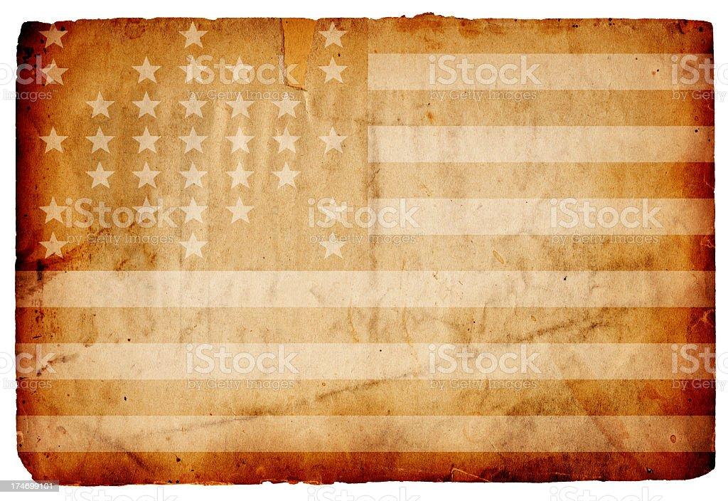 Fort Sumter Flag XXXL stock photo