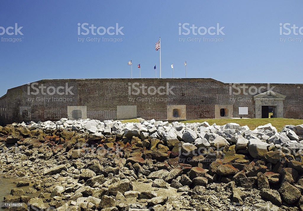 Fort Sumter National Monument Charleston 2 stock photo