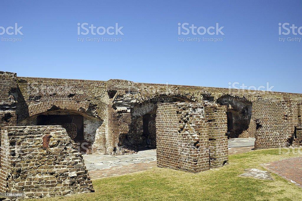 Fort Sumter National Monument Charleston 3 stock photo