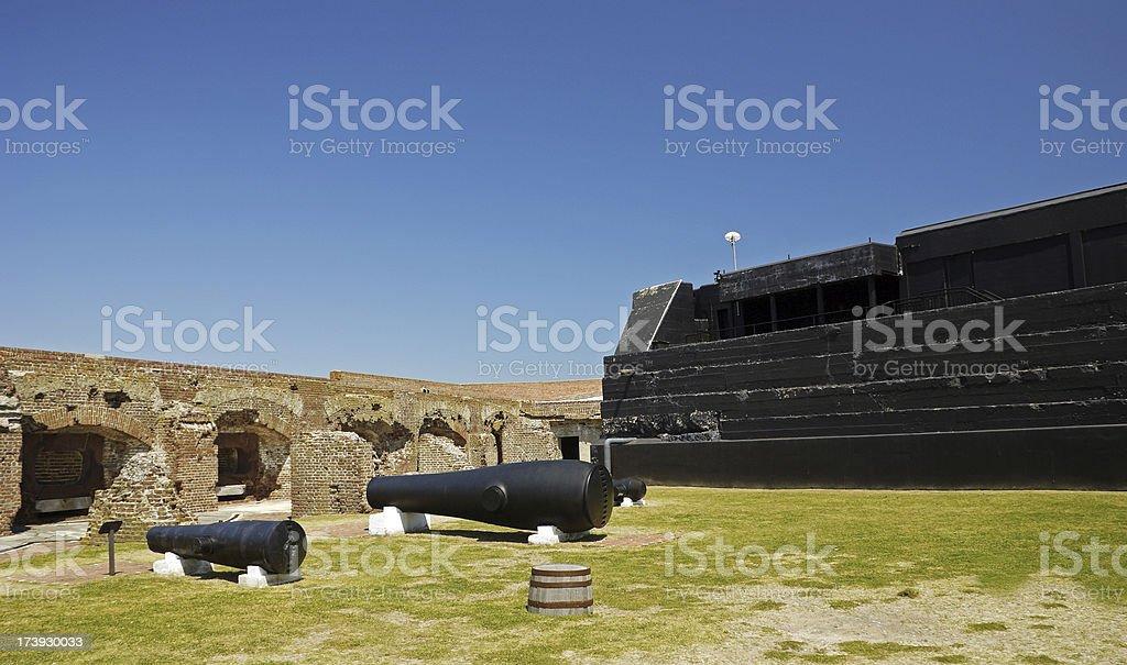Fort Sumter National Monument Charleston 4 stock photo