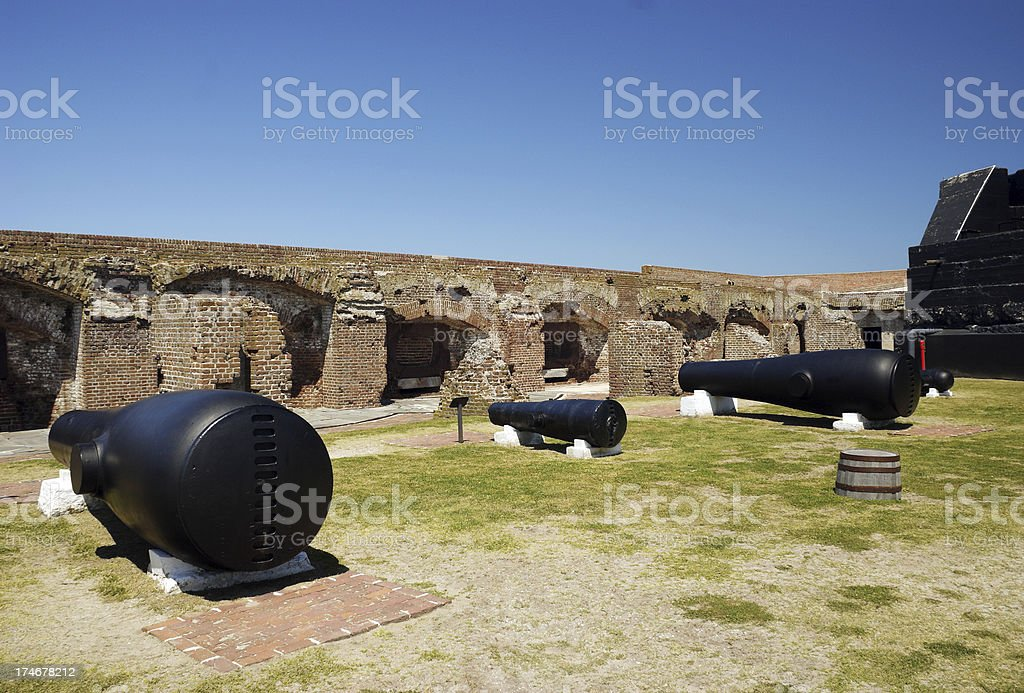 Fort Sumter National Monument Charleston stock photo