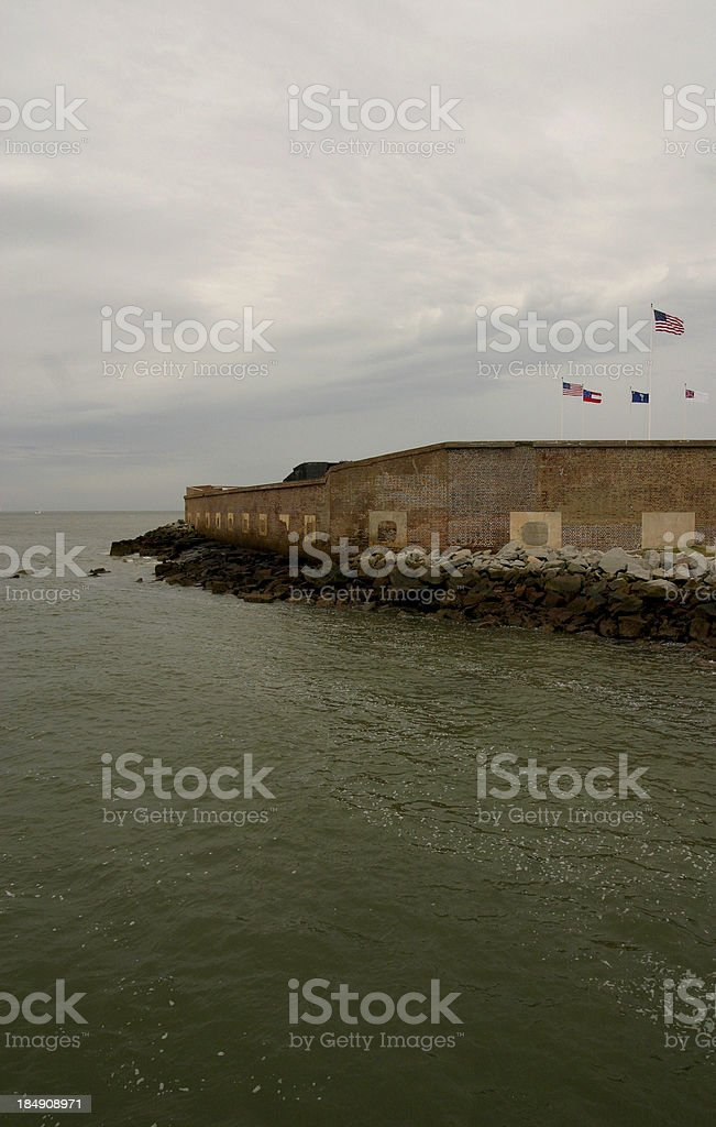 Fort Sumter stock photo