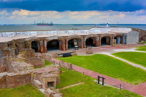 Fort Sumter, South Carolina stock photo