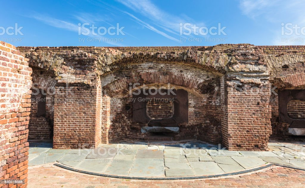 Fort Sumter, South Carolina, USA stock photo