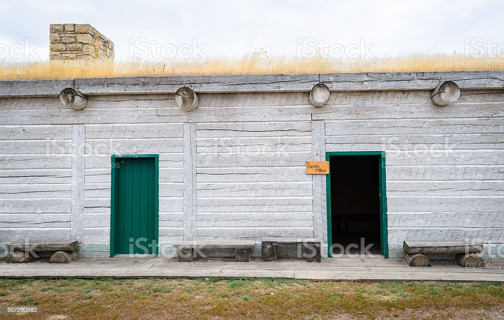 Fort Union Trading Post National Historic Site stock photo