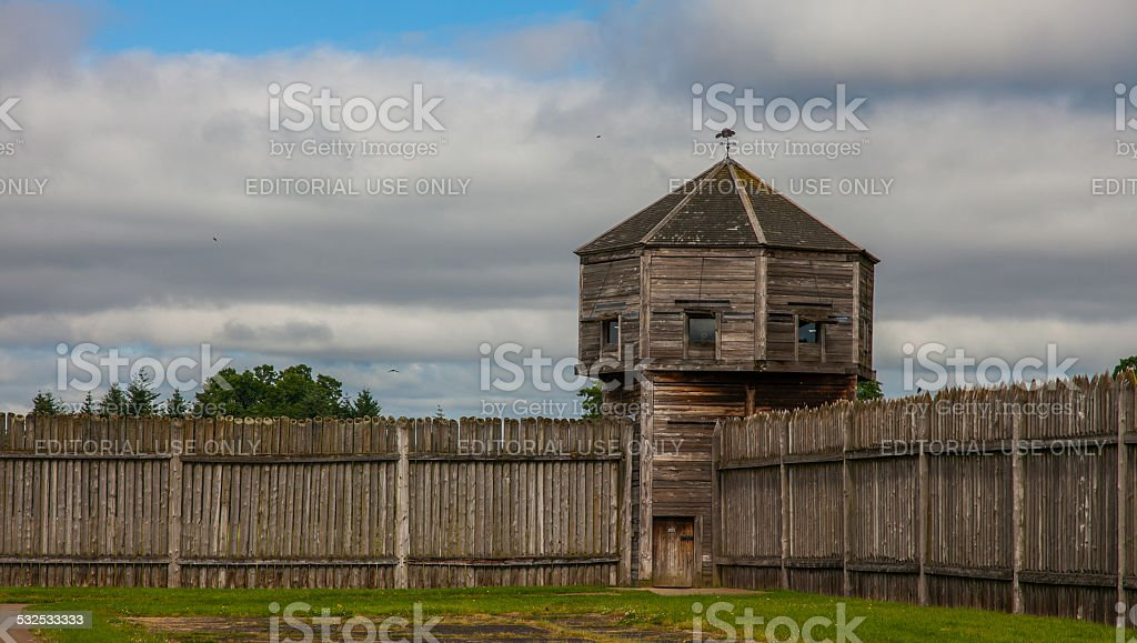 Fort Vancouver National Historic Site - Vancouver, WA stock photo
