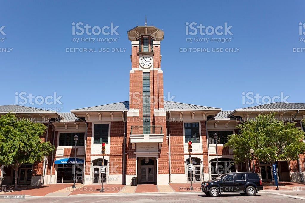 Fort Worth Tranportation Center stock photo