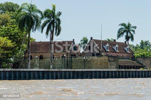 Fort Zeelandia. Historic fortress in the center of Paramaribo.