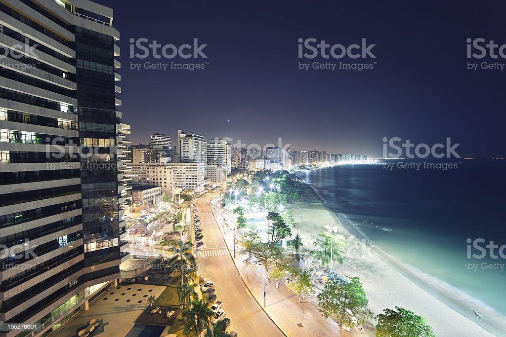 Fortaleza Cityscape,  Ceara, Brazil stock photo