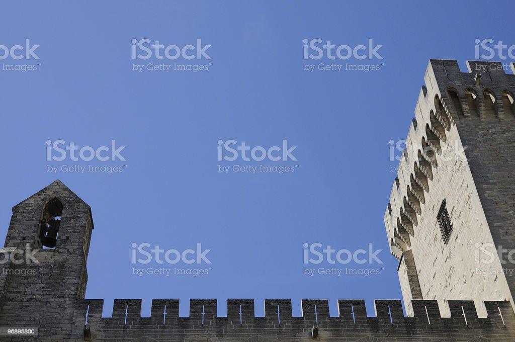Fortezza dei Papi royalty-free stock photo