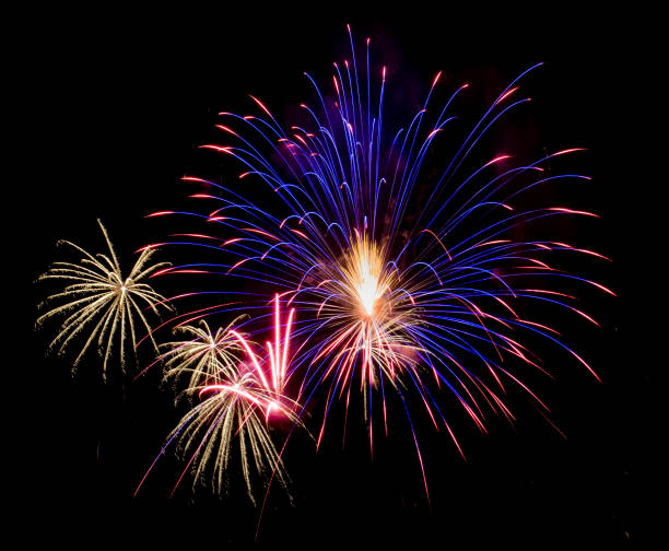 Red Fireworks Free Stock Photo: Royalty Free Red White And Blue Fireworks Pictures, Images