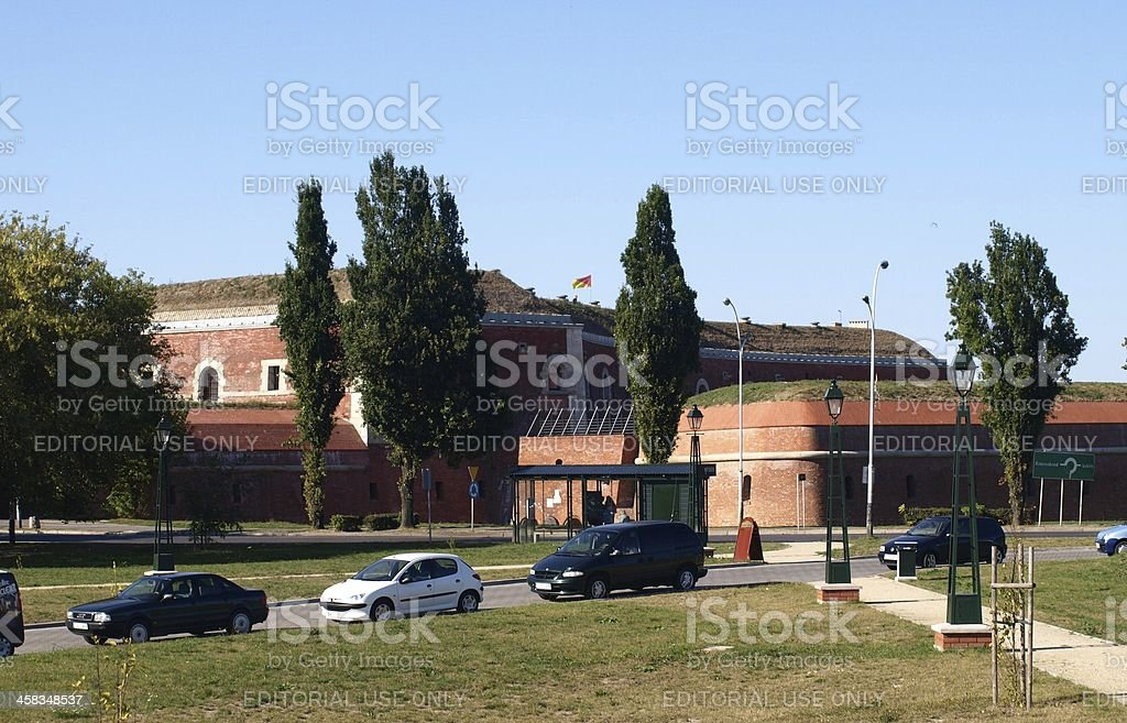 Fortification royalty-free stock photo