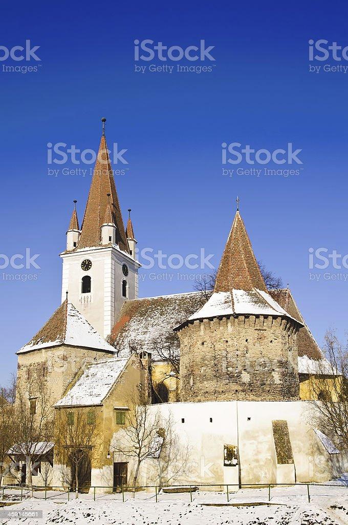 Eine Kirche in Siebenbürgen – Foto