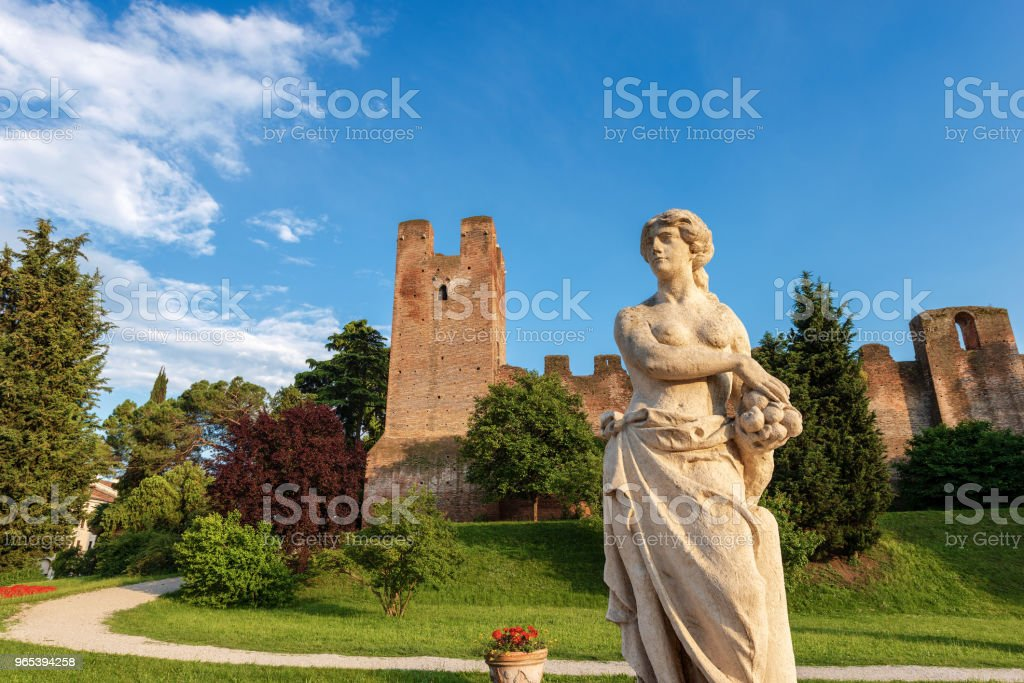 Fortified Town of Castelfranco Veneto - Italy royalty-free stock photo