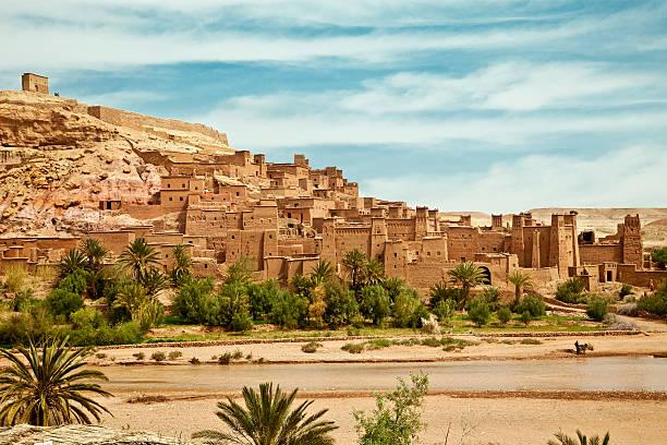 fortified town - kasbah bildbanksfoton och bilder