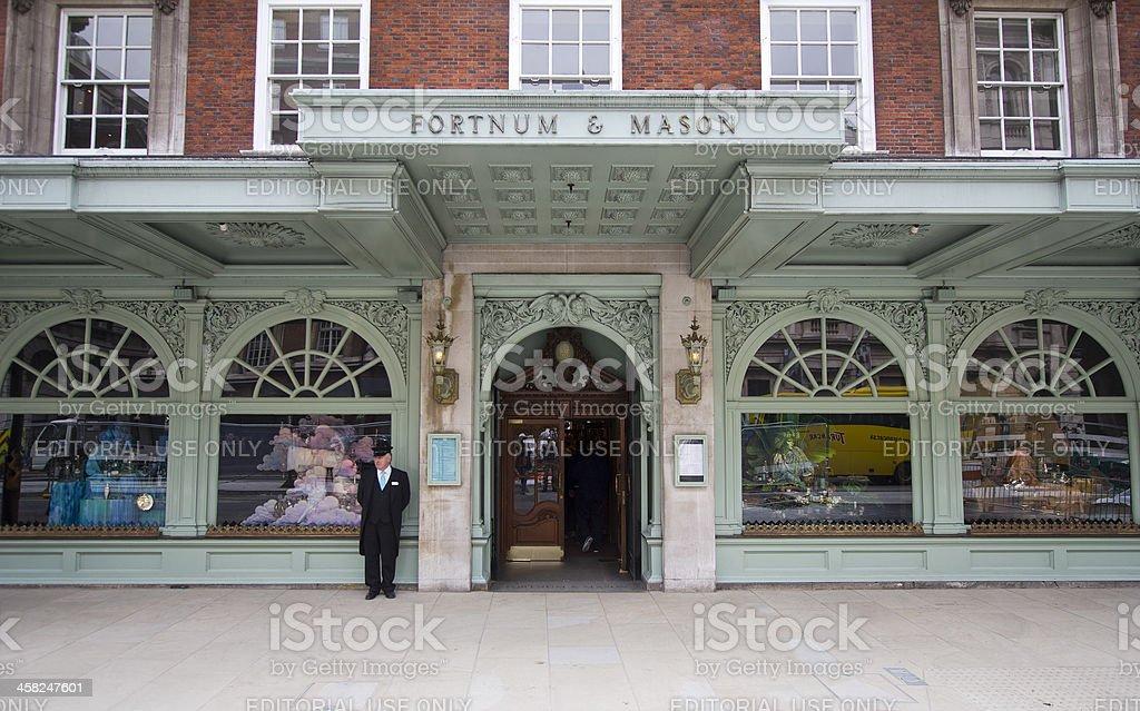 Fortnum and Mason, London stock photo