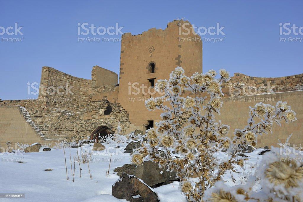 fortress Ani - Turkey stock photo