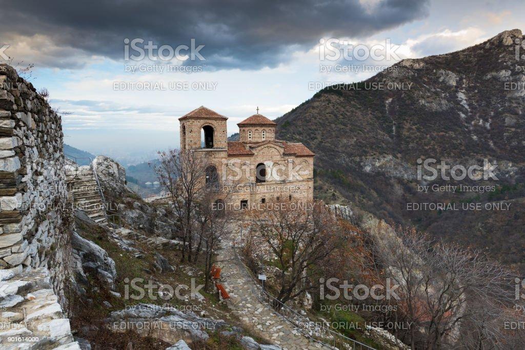 Fortress in Bulgaria stock photo